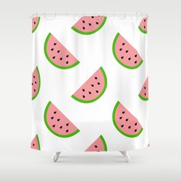 Watermelons! Shower Curtain