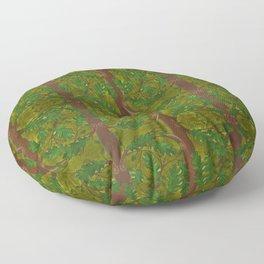 Quercus Oak Tree Pattern Floor Pillow
