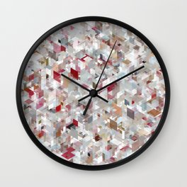 Chameleonic Panelscape Jacopo Wall Clock