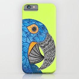 Macaw Azul Guacamaya iPhone Case