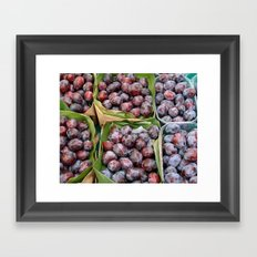 Les Prunes Framed Art Print