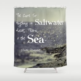 Saltwater Cure Shower Curtain