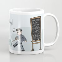 pacific rim Mugs featuring Pacific Rim - Angry Yelling by feriowind