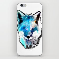 Space Fox iPhone & iPod Skin
