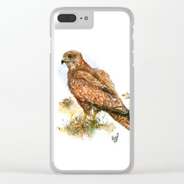 Young hawk Clear iPhone Case
