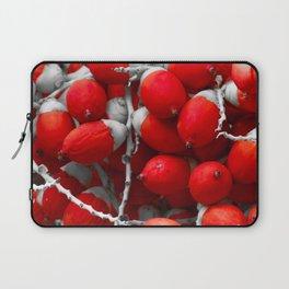 Manila Palm Red Laptop Sleeve