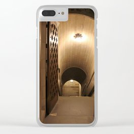 Chapel Crypt Clear iPhone Case