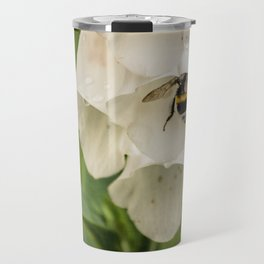 Bumblebee in the campanula Travel Mug