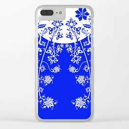 floral ornaments pattern wbp30 Clear iPhone Case