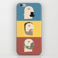 3 Faces of Tom Hardy iPhone & iPod Skin