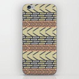 Bricks and sticks iPhone Skin