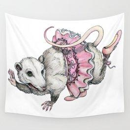 'Possum en Pointe Wall Tapestry