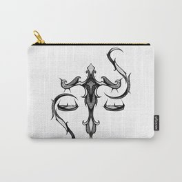 Signs of the Zodiac - Libra Carry-All Pouch