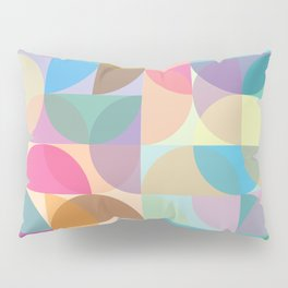 Colorful Abstract Pattern Pillow Sham