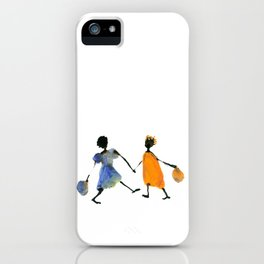 Alika & Zeila iPhone Case