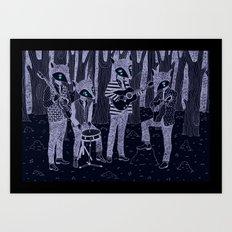 The Band Art Print