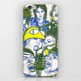 Punk Gods iPhone Skin