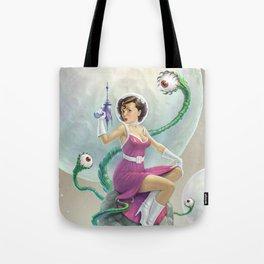 Astro Babe Tote Bag