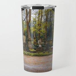 Cemetery gates Travel Mug