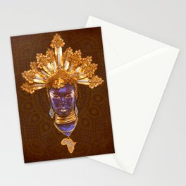 Golden Africa Stationery Cards
