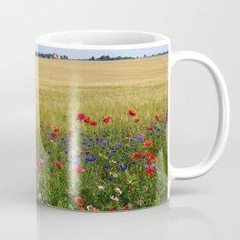 Purple, Red, and Orange Prairie Wildflowers of Spring Coffee Mug
