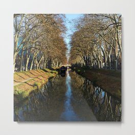 Toulouse Reflected Metal Print