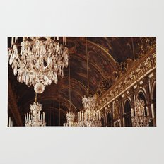 Hall of Mirrors. Great Hall of Versailles. Rug