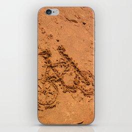 sand bicycle iPhone Skin