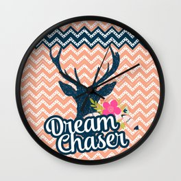 Dream Chaser Tribal Series Wall Clock
