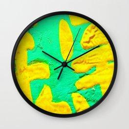 Green Mailbox Wall Clock