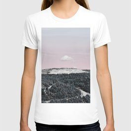 Lonely Cloud And A Forest T-shirt