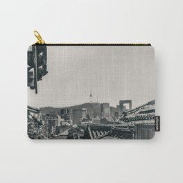 Seoul Cityscape Carry-All Pouch