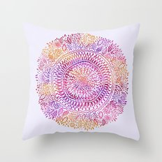 Intricate Sun Throw Pillow