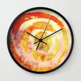 Sum' Rose Wall Clock