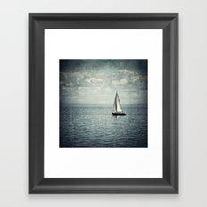 Pleasure Boat Framed Art Print