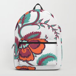 Flowers Seamless pattern Backpack