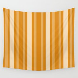 Marigold Victorian Lady Stripe Wall Tapestry