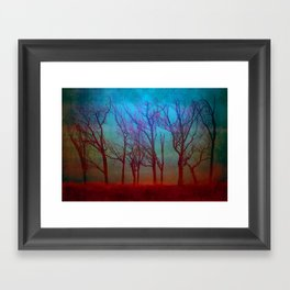 Landscape of a Fantasy Framed Art Print