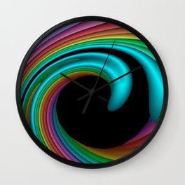 3D for duffle bags and more -25- Wall Clock