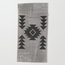 Aztec Tribal Beach Towel