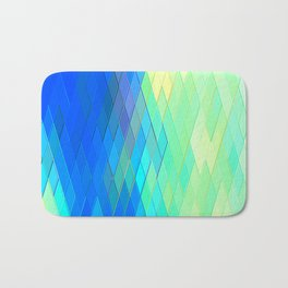 Re-Created Vertices No. 32 by Robert S. Lee Bath Mat