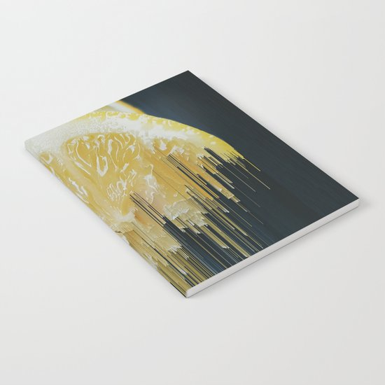 Lemony Good Glitch Notebook
