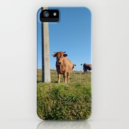I'm just a cow iPhone Case
