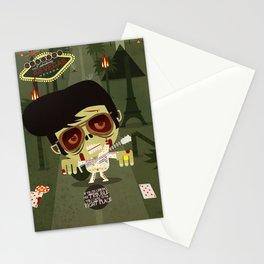 Elvis Zombie Stationery Cards