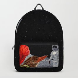 Bird on the moon Backpack