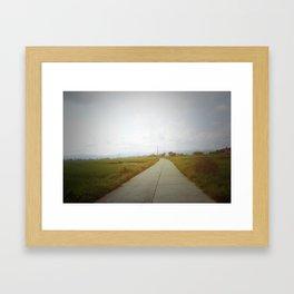 As Far As The Eyes Can See Framed Art Print