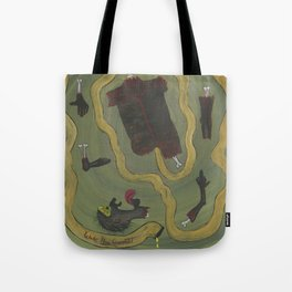 Dismembered Tote Bag