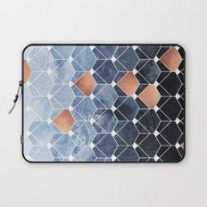 Copper Diamonds Laptop Sleeve