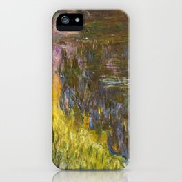 The Water Lilies, Setting Sun - Digital Remastered Edition iPhone Case