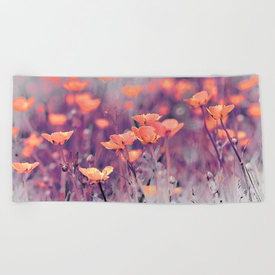 Summer Meadow. Beach Towel